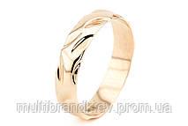 Золотое обручальное кольцо (мужское)