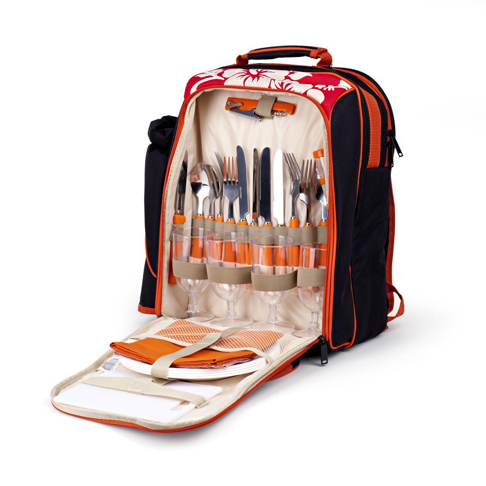 Рюкзак - сумка для пікніка. Набор для пикника. Сумка для холодильника