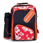 Рюкзак - сумка для пікніка. Набор для пикника. Сумка для холодильника, фото 5