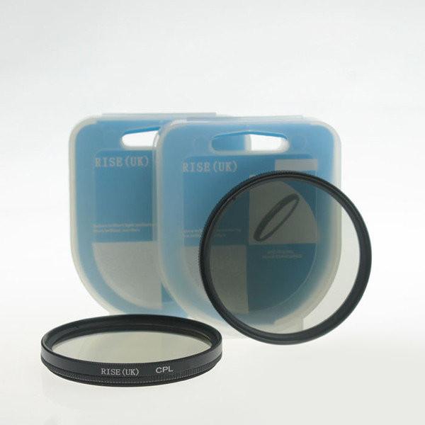 Поляризационный фильтр Rise CPL - 55 mm. (футляр)