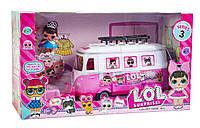 Набор кукол ЛОЛ, LOL автобус, Большая упаковка 40см*22см