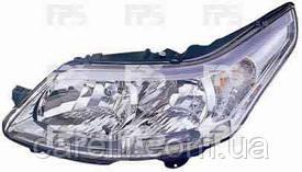 Фара передняя для Citroen C4 '05-09 левая (DEPO) под электрокорректор