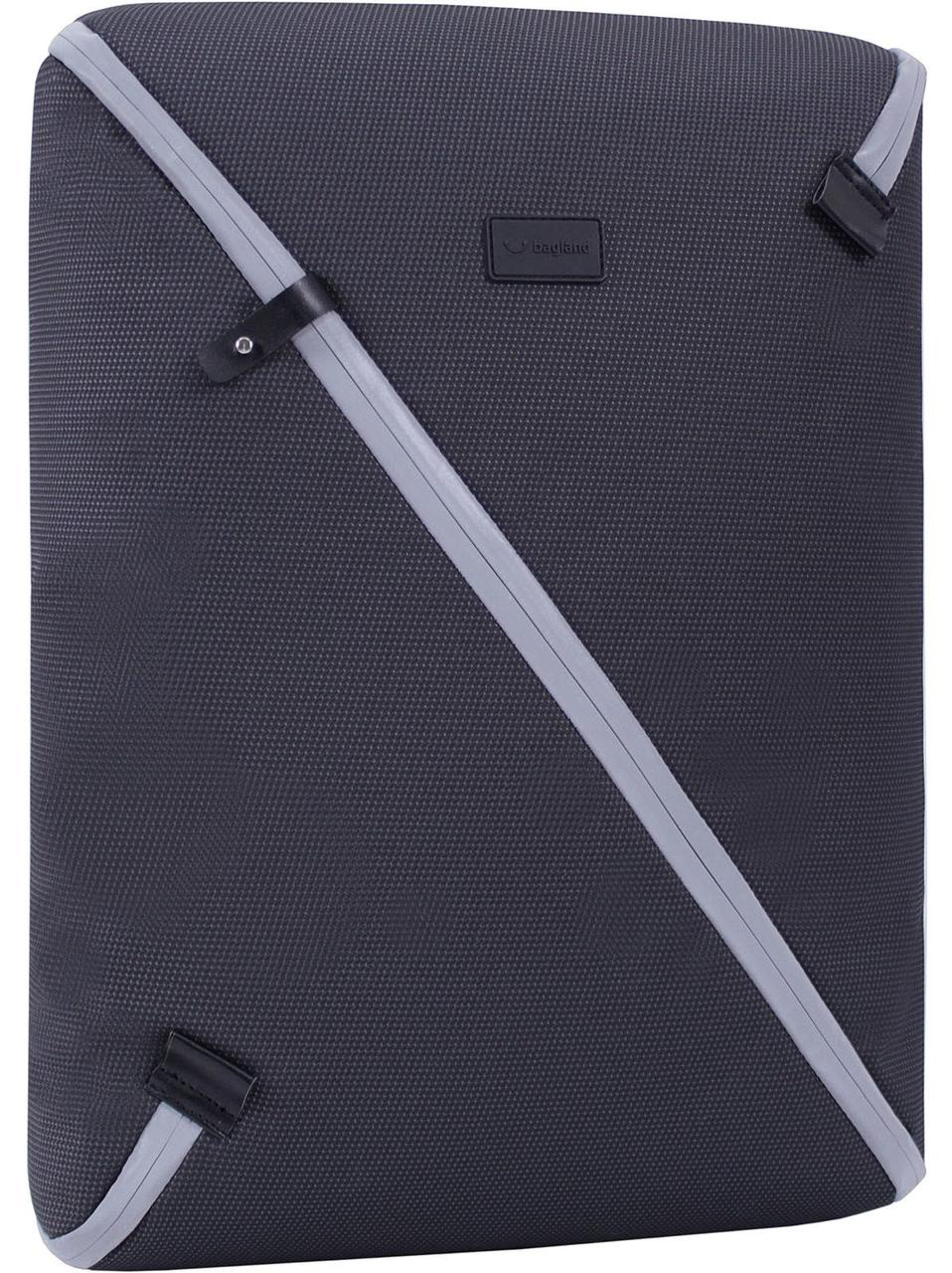 Рюкзак из нейлона для ноутбука Bagland Litter черный 00595169 до 16 д-в