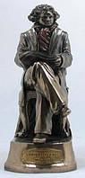 Настольная статуэтка Людвиг ван Бетховен из полистоуна с бронзовым напылением Veronese