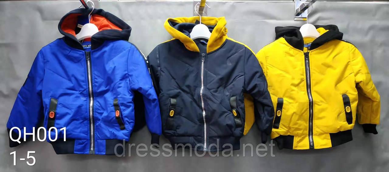 Демисезонная куртка для мальчиков Setty Koop 1-5 лет