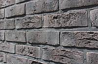Облицовочная плитка Loft Brick Бельгийский 004 Коричневый с подпалом 240x71 мм