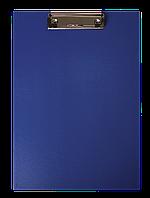 Клипборд BUROMAX А4 PVC темно-синий