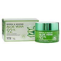 Крем для лица BioАqua Refresh & Moisture Aloe Vera Moisturizing Cream, 50 г