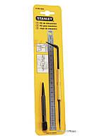 Набор разметочный STANLEY линейка 200 х 13 мм, кернер 3.2 х 100 мм, чертилка