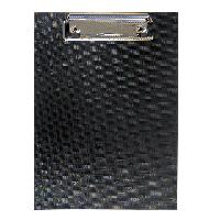 Клипборд BUROMAX А5 PVC черный