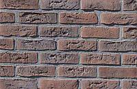 Облицовочная плитка Loft Brick Бельгийский 002 Коричнево-бордовый  240x71 мм