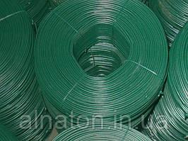 Проволока стальная в ПВХ ф2,5мм (моток 100м.п.)