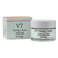 Крем для лица BioАqua V7 Toning Cream, 50 мл