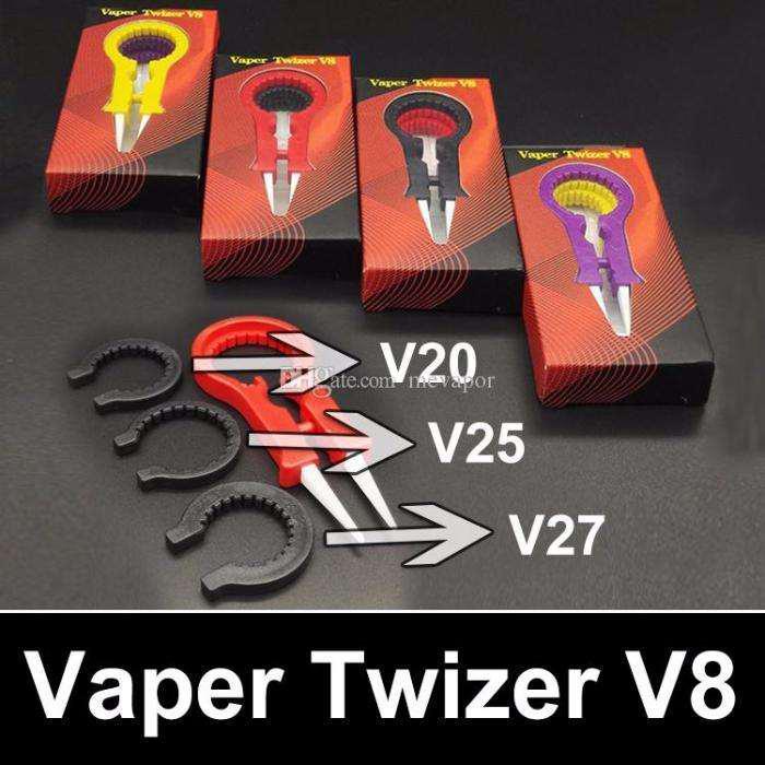 Керамический многофункциональный пинцет для эектронных сигарет - Vaper Twizer V8 - 1шт.