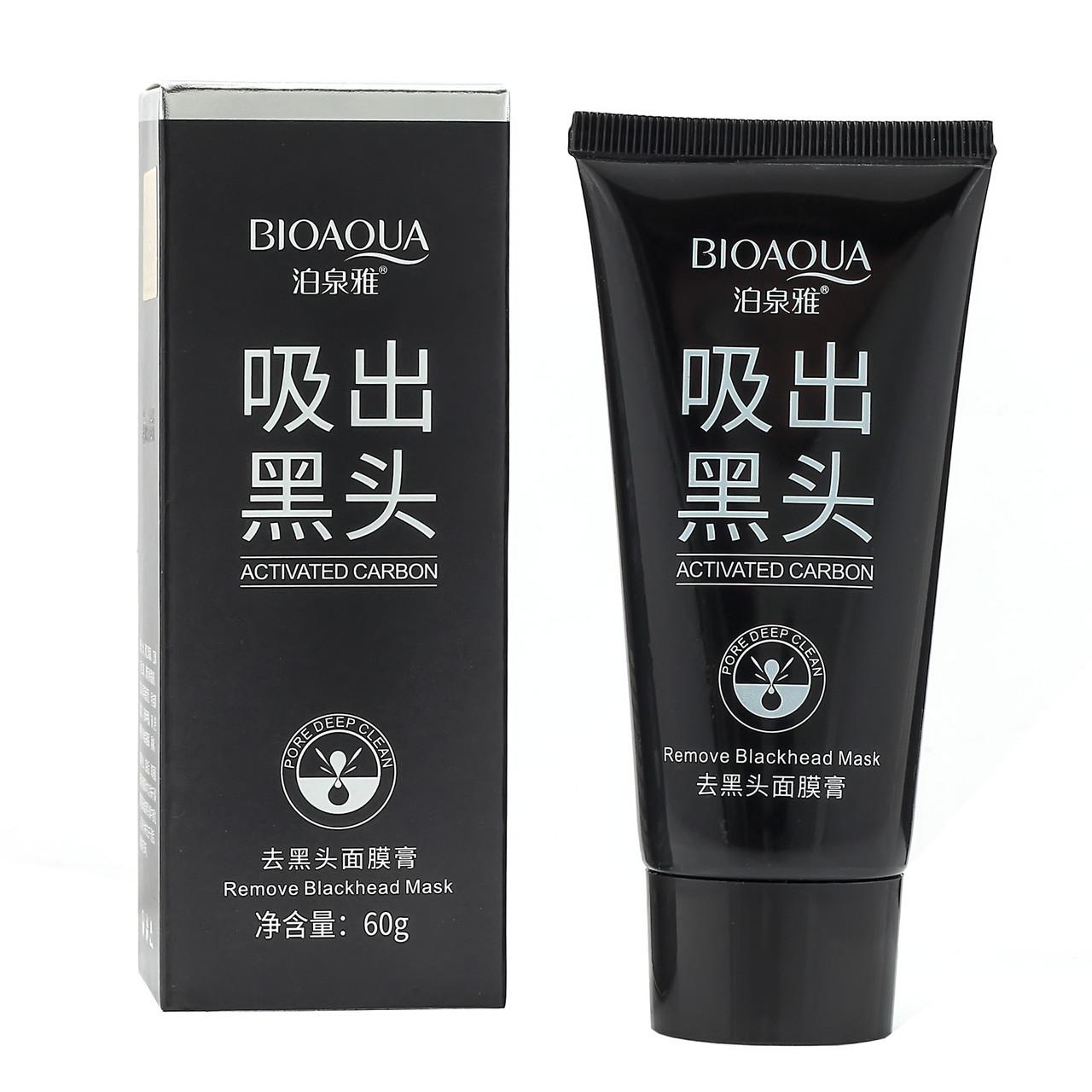 Черная маска-пленка для лица BioАqua Activated Carbon, 60 г