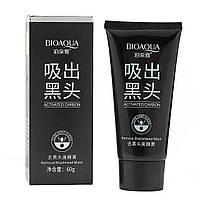 Черная маска-пленка для лица BioАqua Activated Carbon, 60 г, фото 1