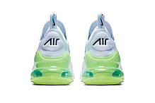 "Кроссовки Nike Air Max 270 ""Белые\Синие\Зеленые"", фото 2"