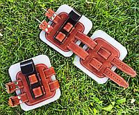 Гравитационные ботинки (инверсионные ботинки для турника) тренажер для спины VMSport Light (vms-014)