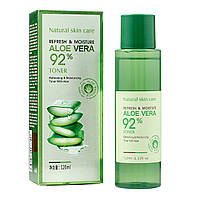 Тонер для лица BioAqua Refresh&Moisture Aloe Vera 92%, 120 мл