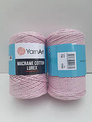 Macrame Cotton Lurex (Макраме Котон Люрекс) (85% хлопок, 15% полиестер) 732