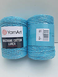 Macrame Cotton Lurex (Макраме Котон Люрекс) (85% хлопок, 15% полиестер) 733