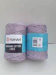 Macrame Cotton Lurex (Макраме Котон Люрекс) (85% хлопок, 15% полиестер) 734