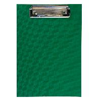 Клипборд BUROMAX А5 PVC зеленый
