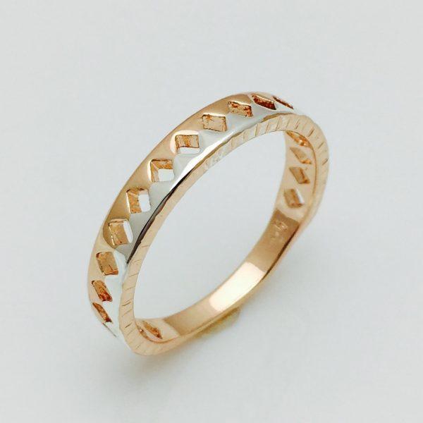Женское кольцо римский стиль, размер 17