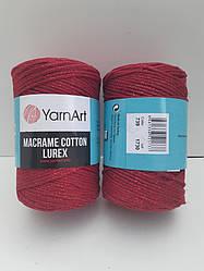 Macrame Cotton Lurex (Макраме Котон Люрекс) (85% хлопок, 15% полиестер) 739