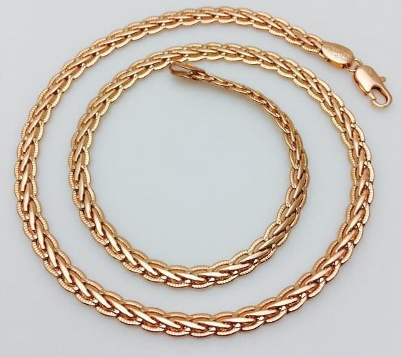 Цепочка, плетение Кельтский узор 60 см.D- 5.3 Ювелирная бижутерия