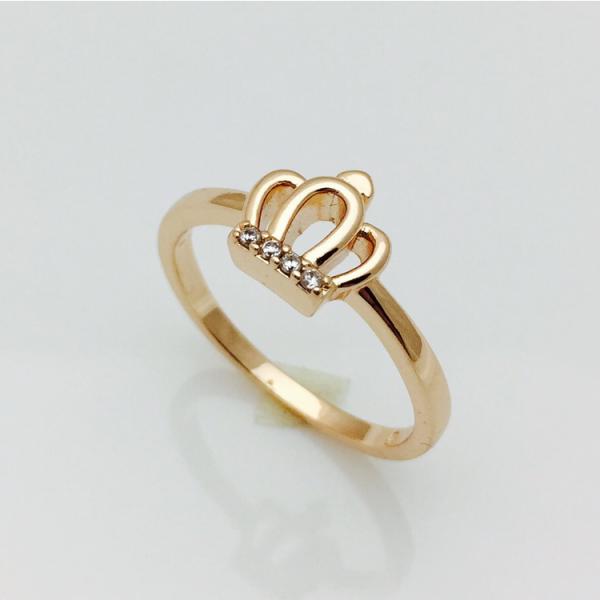 Кольцо корона маленькая, размер 19, 20