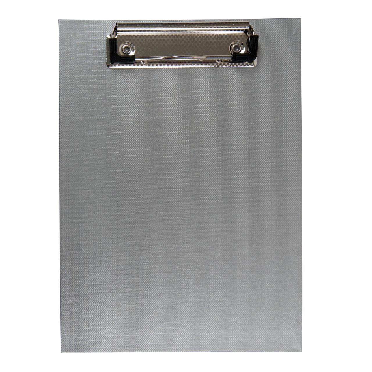 Кліпборд BUROMAX А5 PVC сірий