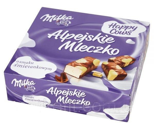 Milka Alpejskie Mleczko Happy Cows 330 г
