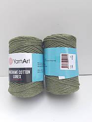 Macrame Cotton Lurex (Макраме Котон Люрекс) (85% хлопок, 15% полиестер) 741