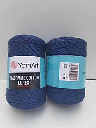 Macrame Cotton Lurex (Макраме Котон Люрекс) (85% хлопок, 15% полиестер) 740