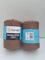 Macrame Cotton Lurex (Макраме Котон Люрекс) (85% хлопок, 15% полиестер) 742