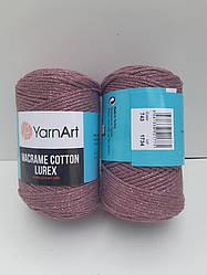 Macrame Cotton Lurex (Макраме Котон Люрекс) (85% хлопок, 15% полиестер) 743