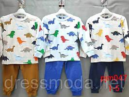 Пижамки  для  мальчиков Setty Koop 1-5 лет