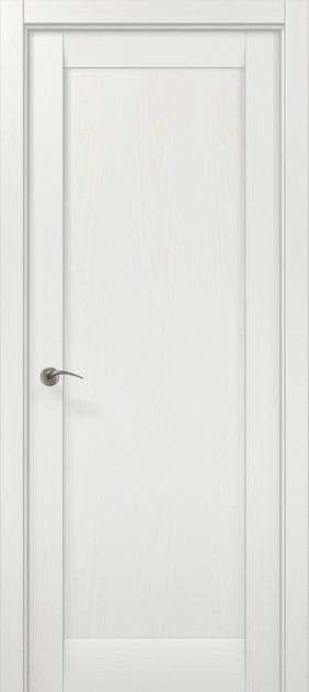 Дверное полотно 2000х910х40 Папа Карло Millenium ML-00Fc Белый ясень