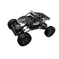 Автомобиль на р/у Sulong Toys Off-Road Crawler - Where the Trail Ends матовый черный (SL-121RHMBl)
