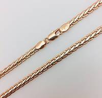 Цепочка плетение Кельтский узор, длина 50 см ширина 4 мм ювелирная бижутерия