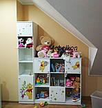 """Этажерки и тумбы """"Винни"""" в детскую комнату, фото 3"""