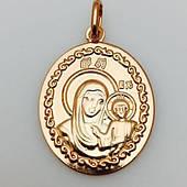 Ладанка Божья матерь с младенцем