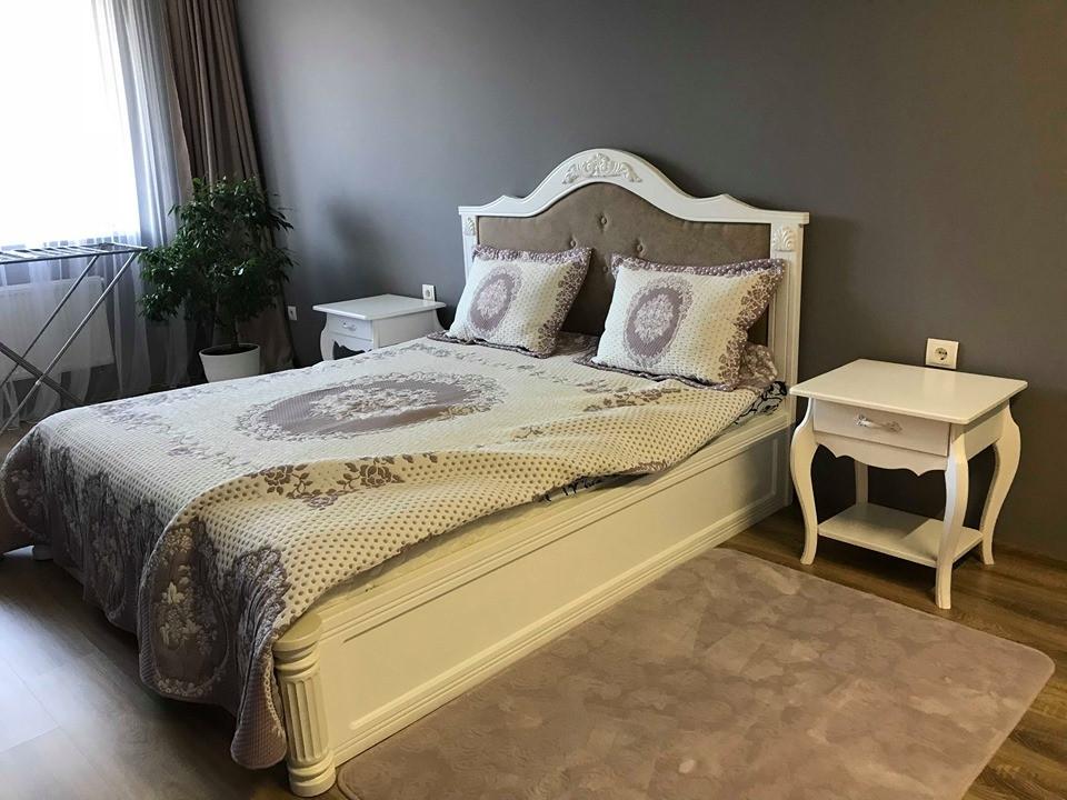 Деревянная кровать Кемпас Классик с подъемным механизмом