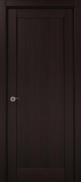 Дверное полотно 2000х910х40 Папа Карло Millenium ML-00Fc Венге
