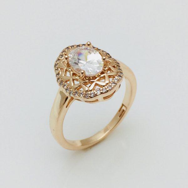 Кольцо женское, размер 17, 18, 19