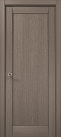 Дверное полотно 2000х710х40 Папа Карло Millenium ML-00Fc Серый дуб