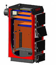 Твёрдотопливный котел МАЯК КТР-25 кВт ECO MANUAL UNI, фото 3