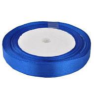 Лента атласная 1,2см 10шт синяя ЛА12-40