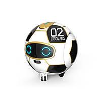 Робот-м'яч FINECO COOLBO J02 багатофункціональний робот-трансформер на р/к Чорно-Білий (SUN4925)